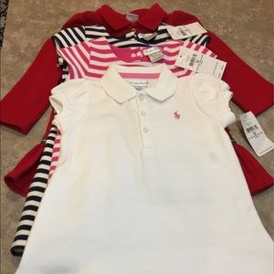 4 Ralph Lauren Little Girls Dresses NWT